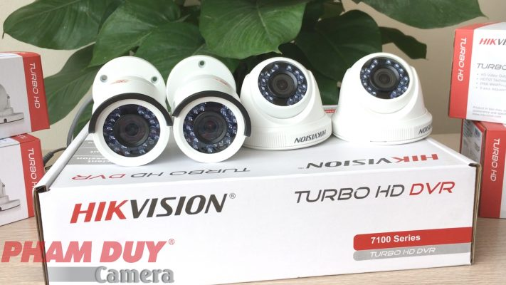 Bộ Camera Hikvision 2MP - Phạm Duy Camera